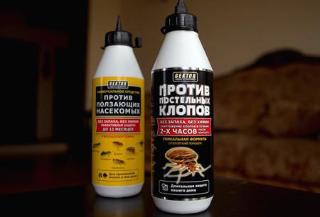 Insekticidni Hector od stjenica i drugih insekata